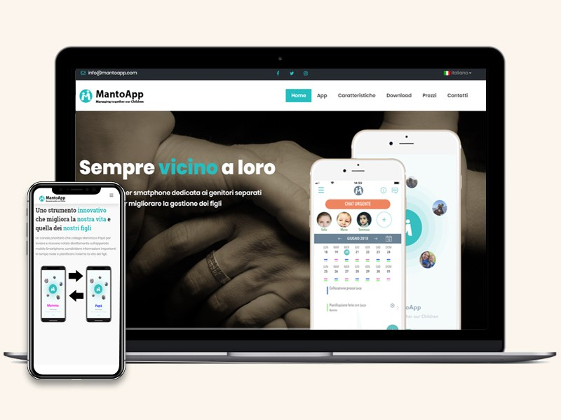 Mantoapp website